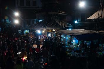 Night time in Kathmandu