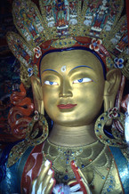Maitreya Buddha - Thiksey Gompa