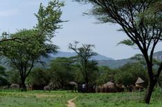 A Tsemai village