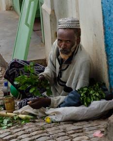 Street trader - Khat