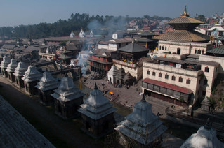 The burning ghats