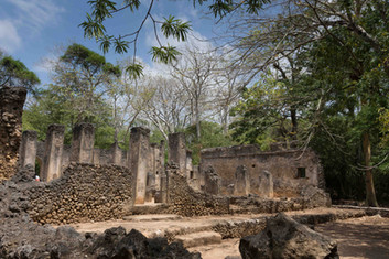 Ruins at Gede