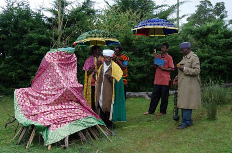 Village celebration at the start of Meskel
