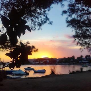 Las puestas del Sol en Octubre son marav
