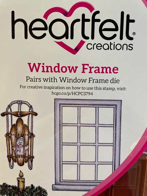 Tampon Heartfelt « window frame »