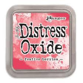 Distress Oxide ink pad festive berries
