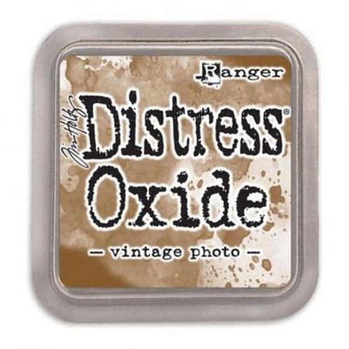 Distress Oxide ink pad vintage photo