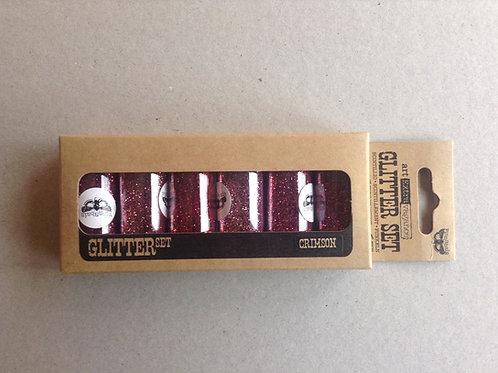 Glitter Set Crimson