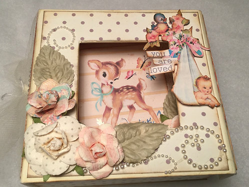 """Kit coffret """"You are loved"""" - Ref:C124"""