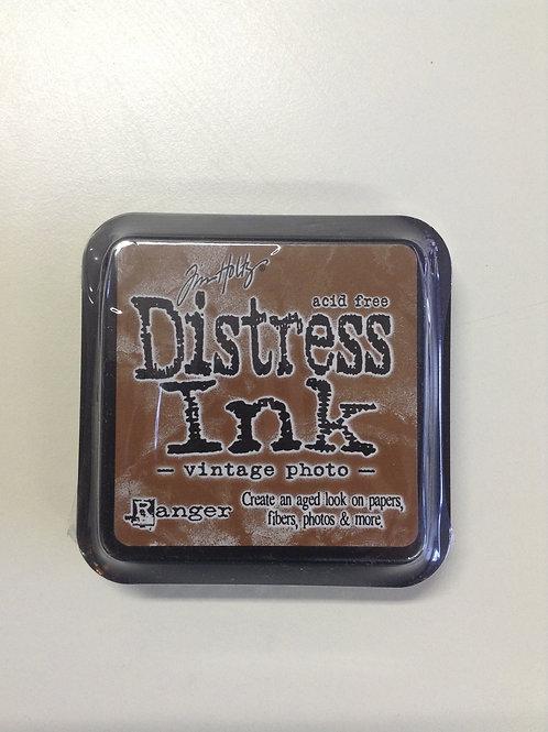 Encre distress vintage photo