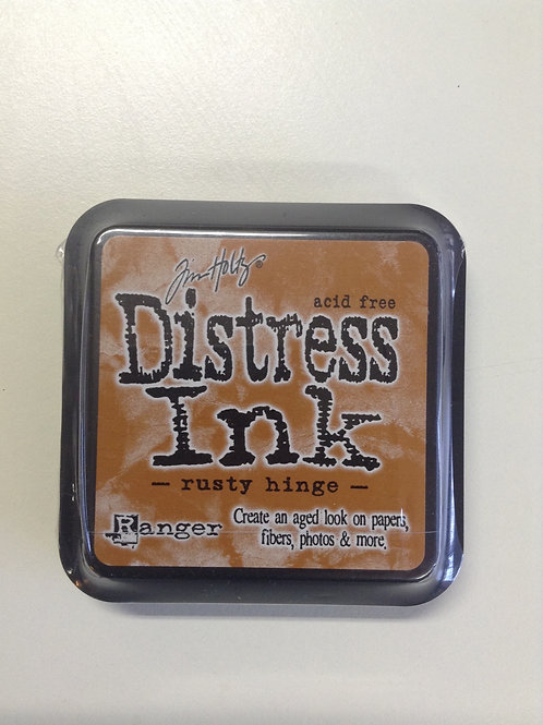 Encre distress rusty hinge