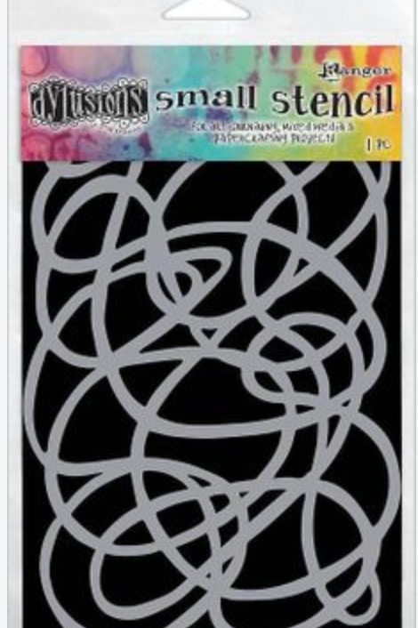 Pochoir SQUIGGLE, small DYS61717