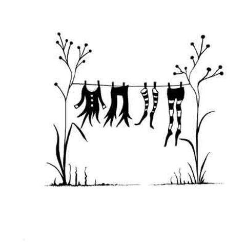 Fairy Washing Line