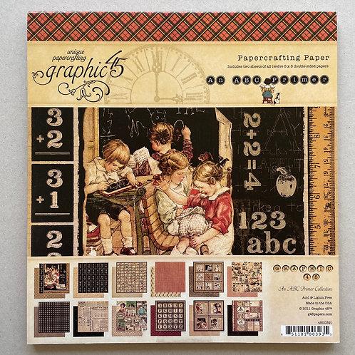 Bloc papier G45  An ABC Primer 8x8