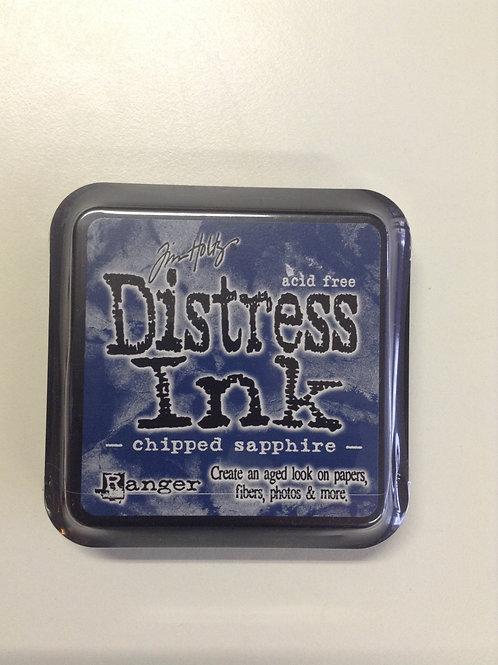 Encre distress chipped sapphire petit