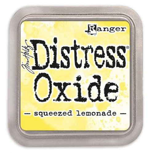 Distress Oxide ink pad squeezed lemonade