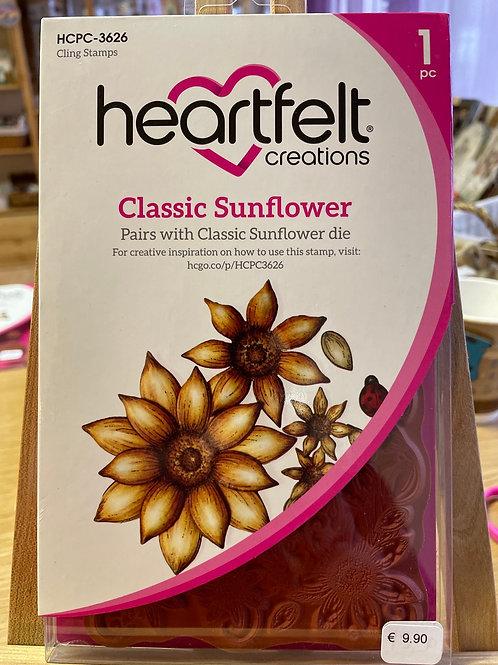 Tampon Heartfelt «classic sunflower»