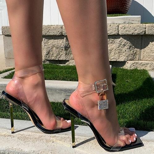 Clear Lock Heels