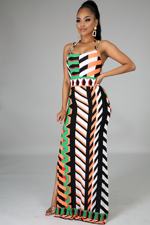 Endless Split Maxi Dress