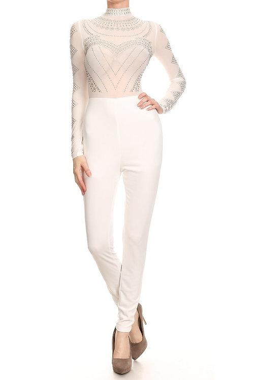 Essance Jumpsuit (White)