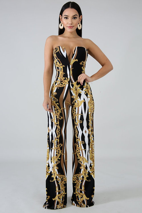 Royal Figuree Jumpsuit
