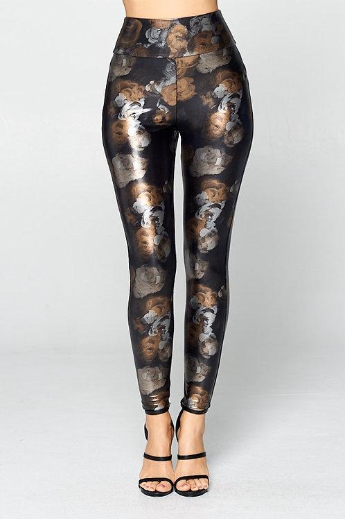Rustic Rose Leggings