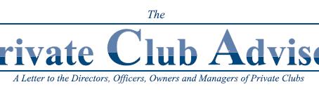 Private Club Advisor - October 2018