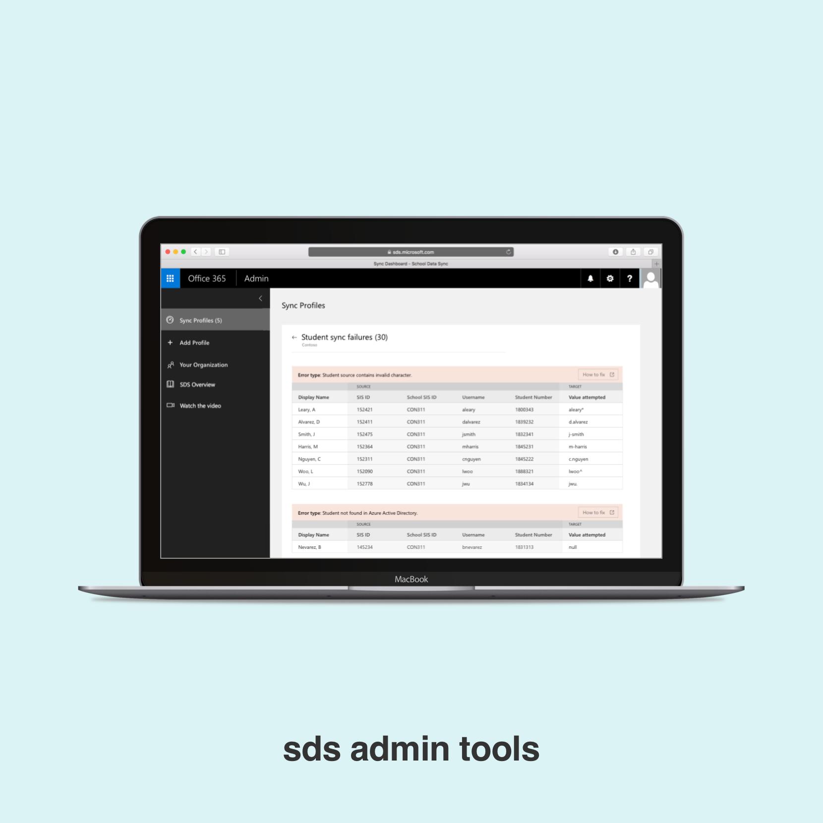 SDS Admin