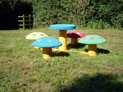 Mushroom Picnic Set