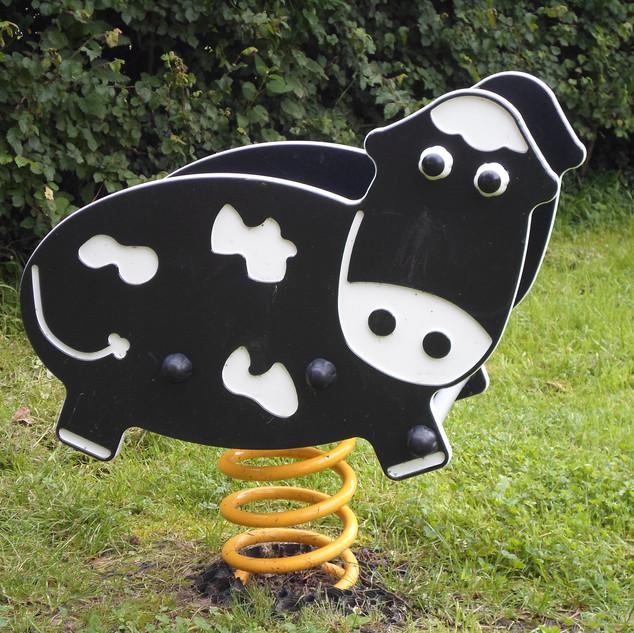 Cow Spring Rocker