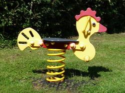 Chicken Spring Rocker