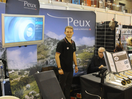 The PEUX team was on Charleroi Fly Fishing show !