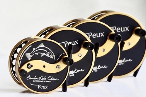 Moulinets PEUX Speedline Classique démultipliés et anti-reverse