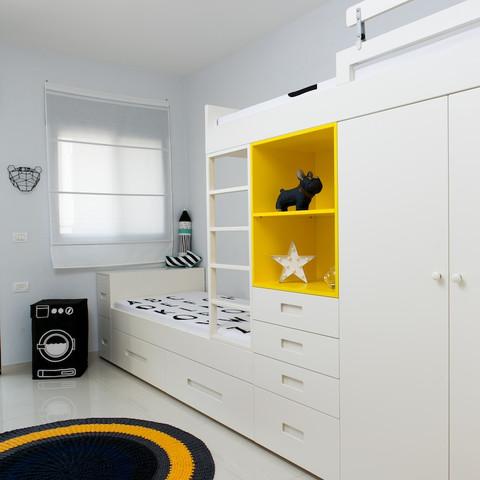 מירב דקל | עיצוב חדר ילדים לתאומים