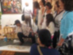 תערוכה בטיק BATIK טוטק ירושלים 2009 חוצו