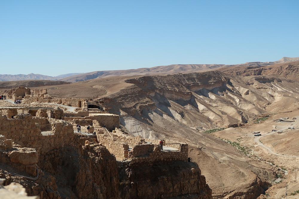 Masada at dawn
