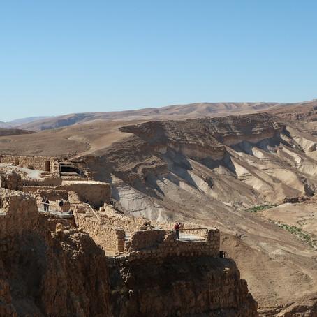 Why would you want to climb Masada at dawn?