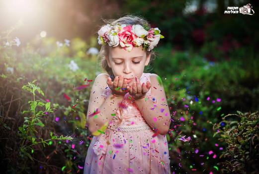 צילומי ילדים ומשפחה בטבע - תקוה מהבד