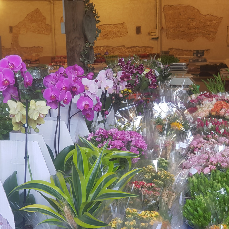 שוק חקלאים עץ השדה   פרחים
