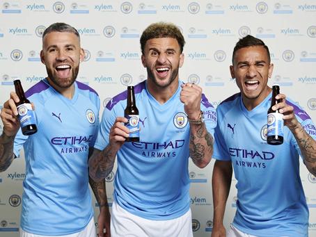 """תאגיד XYLEM מייצרים בירה ממי גשמים ומים ממוחזרים בשת""""פ עם קבוצת הכדורגל מנצ'סטר סיטי"""