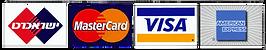 מכבדים כרטיסי אשראי