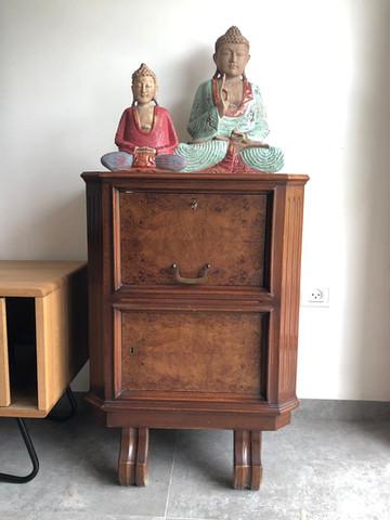 רהיטים עץ מלא טיק, נצרים, טיבעי, אינדונזיה