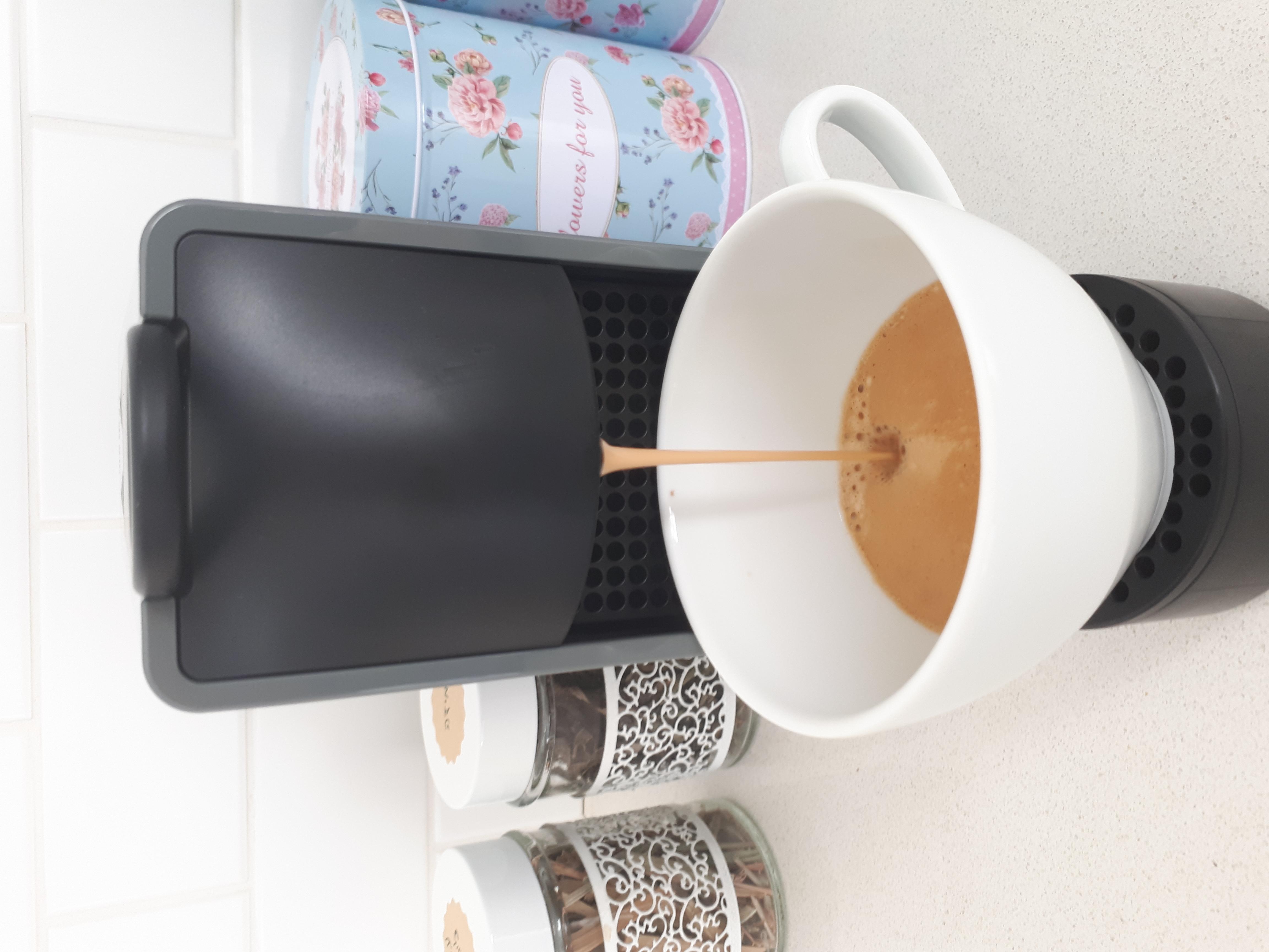נוף בראשית - מכונת קפה