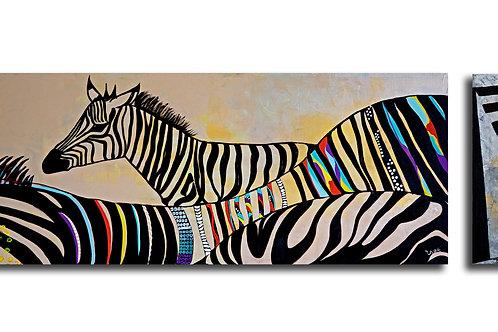 Nature painting- Zebra stripes
