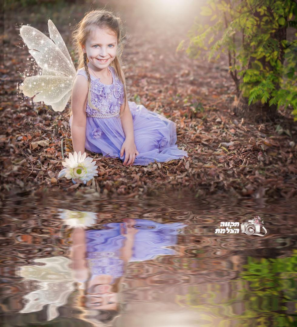 צילום ילדים תקווה מהבד הצלמת פיות