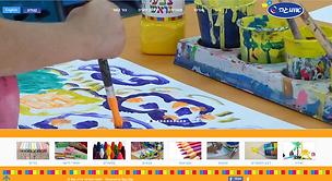אומגה, צבעים וחומרי יצירה