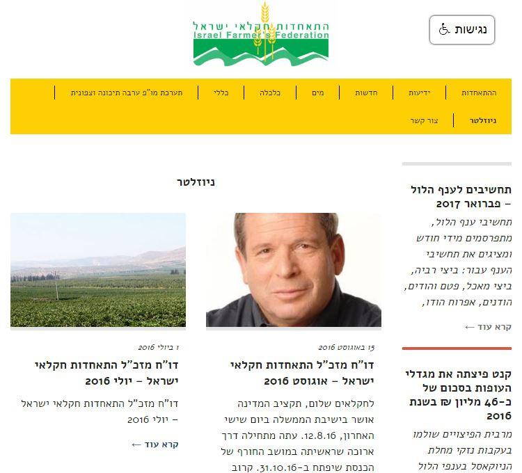 התאחדות חקלאי ישראל
