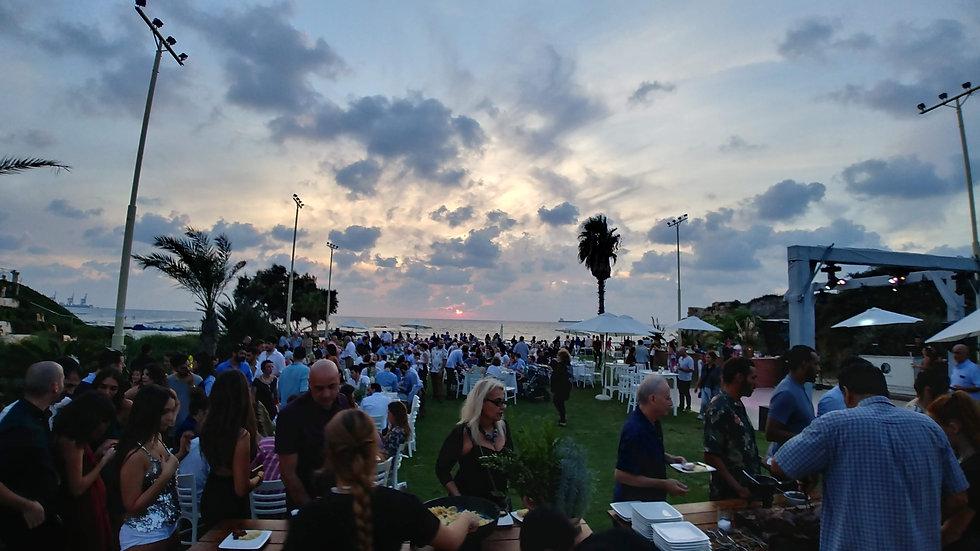 אירוע ערב בים ג'וי בר