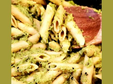 Recipe Corner- Pasta w/Asparagus Sauce