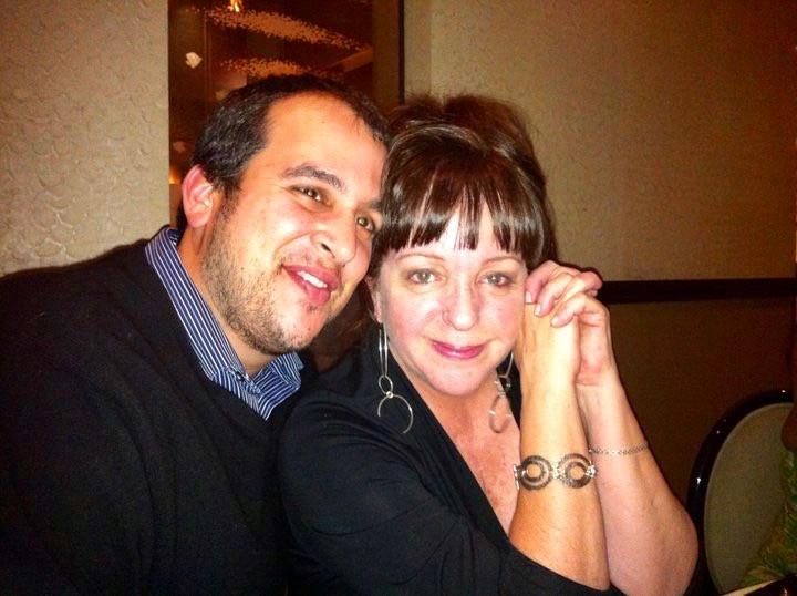 Sandra and her husband Steve
